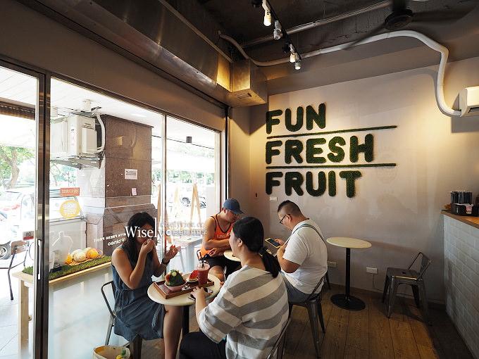 《新北中和。捷運永安市場站》一夫冰果 If bingo:現打果汁與造型冰淇淋水果盅