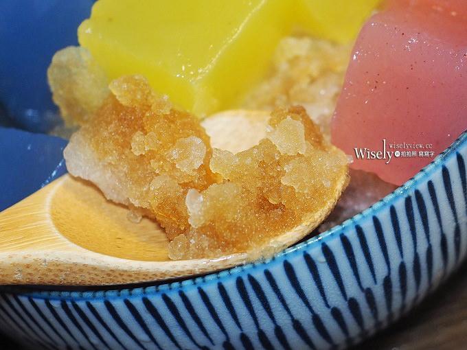 《台北松山。捷運國父紀念館站》來特冰淇淋:四色粉粿黑糖冰,採用天然食材與清冰