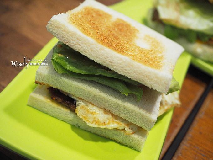 《台北松山。捷運中山國中站》白暮蛋餅先生:平價脆皮蛋餅,KUSO趣味用餐環境