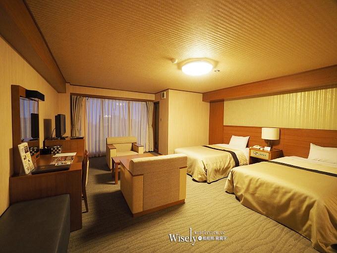 《鹿兒島住宿。ホテル霧島キャッスル/霧島城堡飯店》霧島溫泉裡提供豐盛自助餐與超大客房