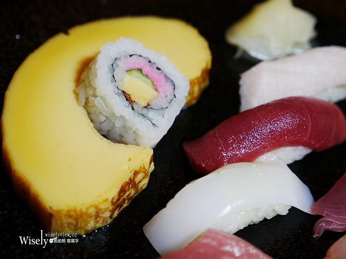 《日本千葉。治ろうや鮨処壽司》漁夫布丁蛋糕壽司「伊達卷」,及幻之美味「金目鯛」