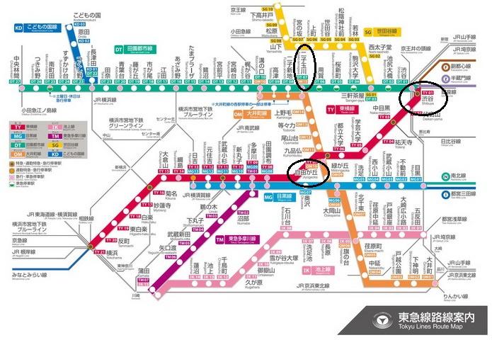 東京。東急電鐵三角一日券400円︱渋谷、中目黑~自由が丘~二子玉川:甜點雜貨控路線