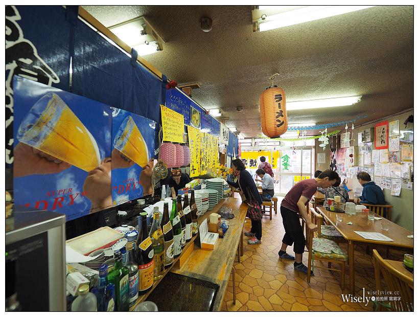 《北海道。利尻島》鴛泊港-磯燒亭:美味利尻昆布拉麵,充滿海潮香氣與豐富食材的美味