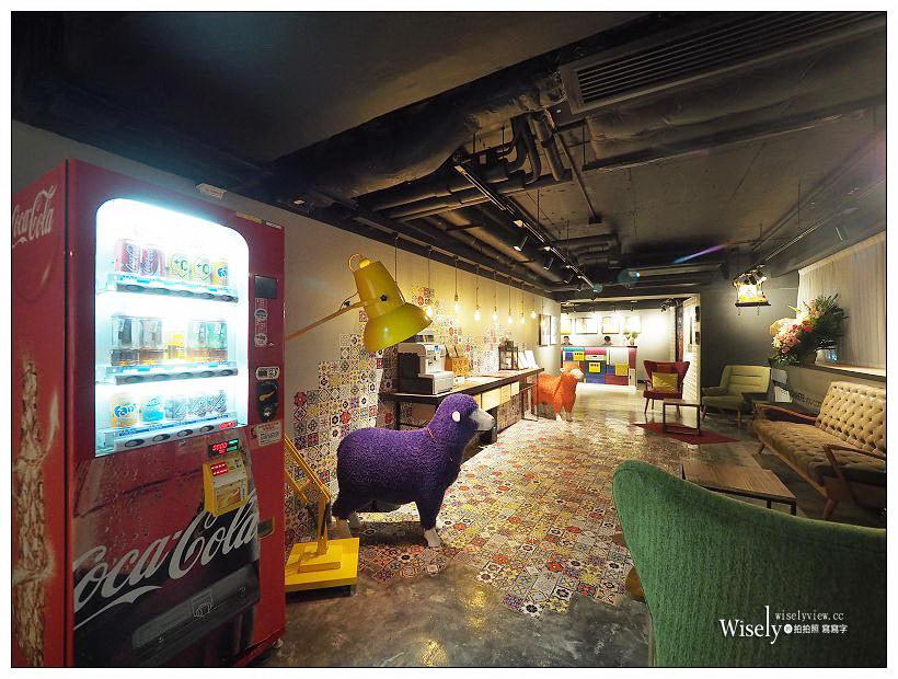 《香港尖沙咀住宿推薦》瑞生尖沙咀酒店 attitude on granville:復古仿舊花磚與往昔香港壁畫