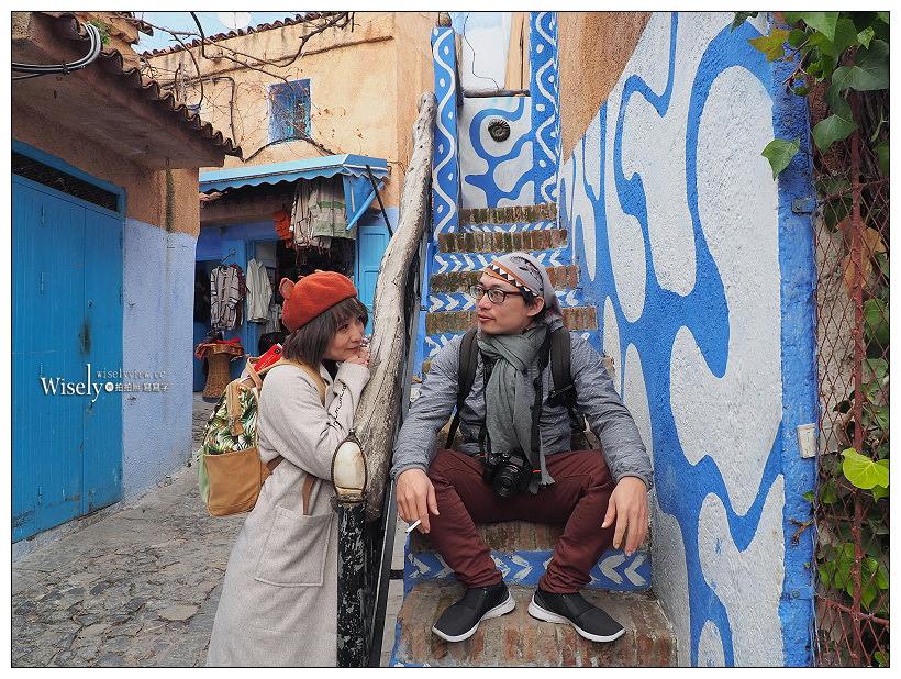《摩洛哥》舍夫沙萬 Chefchaouen:北非世界裡,迷幻色調的藍色小鎮