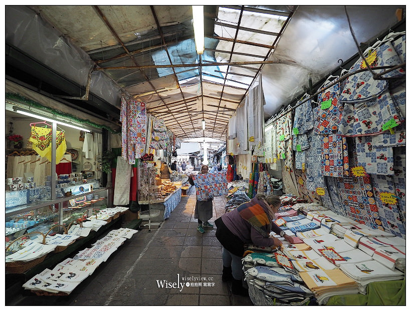 葡萄牙。波多必買︱老城區花街、Mercado do Bolhão傳統市場、Confeitaria do Bolhão柏豪麵包店#軟木塞背包#餐具桌布
