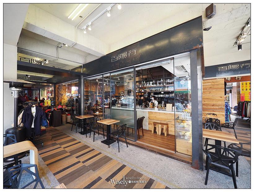 台北大同。捷運台北車站︱百陽行-後站咖啡館:華陰街商圈裡的街角歇腳處