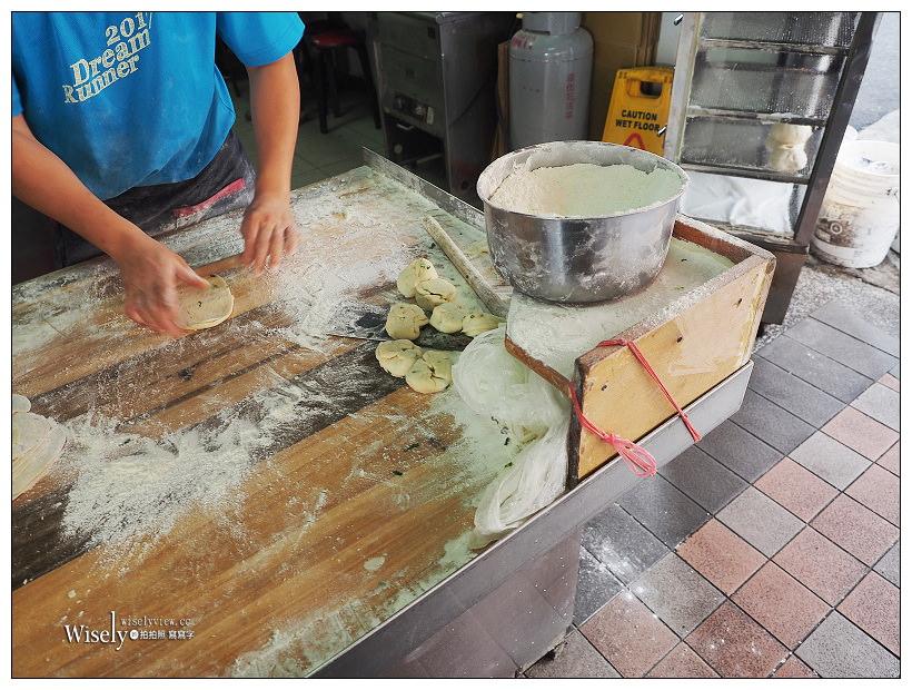 新店早餐推薦。旭達豆漿店︱現桿製作脆皮招牌蛋餅,口感香酥在地老字號