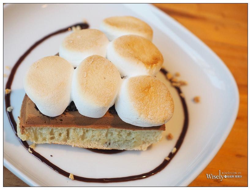 台北文山。捷運景美站︱Trouble Maker 搗蛋鬼手工鬆餅:美味可口的下午茶