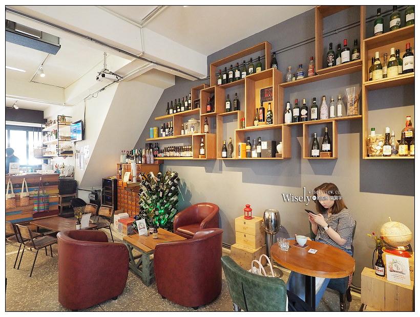 台北大同。捷運北門站︱Le Zinc 洛 Café & Bar:大稻埕裡百年老宅洛酒館咖啡
