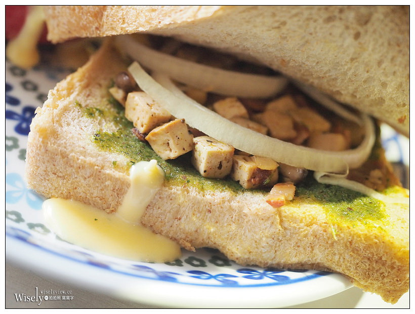 台北中山。捷運行天宮站︱遇見美好早午餐:有機食材價格略高味道較一般