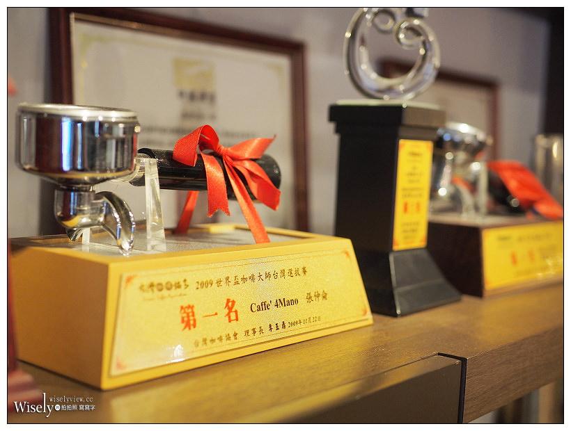 台北中正。4Mano Caffé 忠孝店︱知名冠軍咖啡與麻糬鬆餅,光華商場下午茶