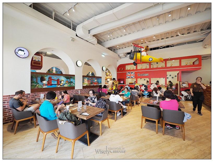 台中史努比餐廳。查理布朗咖啡店︱裝潢精緻環境舒適的主題餐廳,鄰近秋紅谷~新菜單豐富可愛,親子粉絲必訪IG打卡聖地