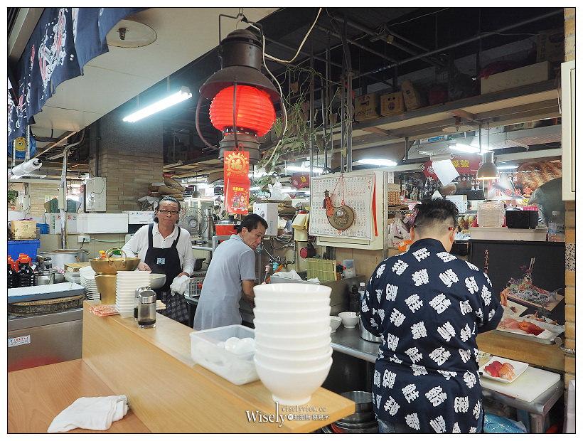 台北大同。永樂市場美食︱丸隆生魚行-立吞壽司、艾肯瑪斯銅板手沖咖啡