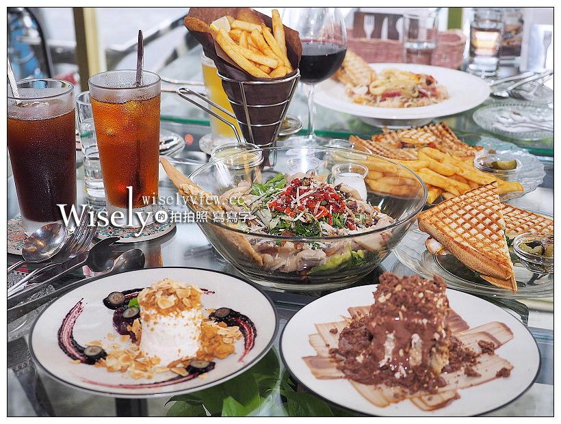 台北大安。TOASTERIA CAFÉ︱吐司利亞咖啡四人分享餐,地中海風美味組合
