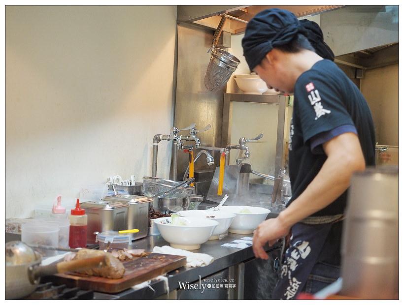 台北中正。山嵐拉麵公館店︱北海道札幌台灣分店,濃厚豚骨拉麵#蔥爆彈
