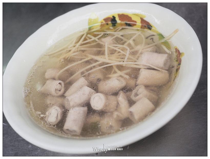 台北大同。雙連街許記小吃攤︱必嚐魯肉飯與豬頭皮,黑白切和豬腸湯也好吃