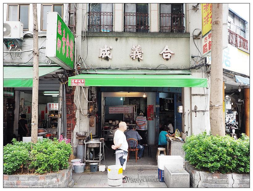 台北萬華。藍居古早味餛飩麵︱美味大骨湯頭餛飩湯,在地出名的孝女麵攤