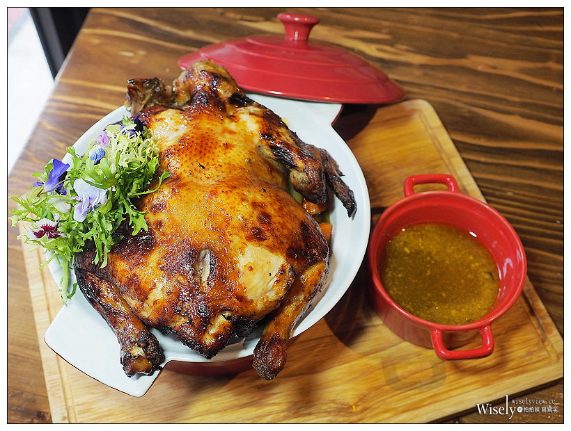 台北信義。JK STUDIO新義法料理︱感恩節三日限定發售超值套餐(需預約) #西西里烤雞 #美國極黑戰斧牛 #噶瑪蘭戰斧豬排