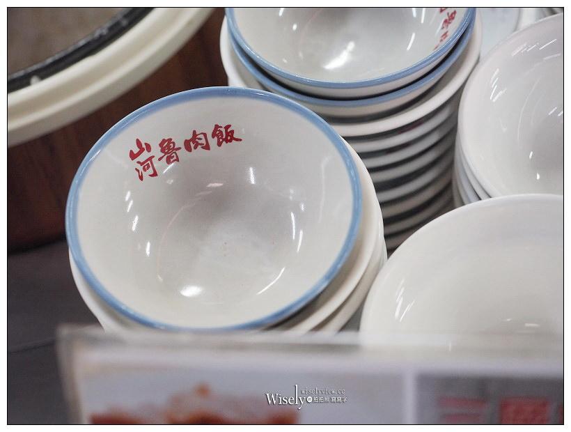 台中中區。山河魯肉飯︱大推腿庫魯肉飯&三層肉魯肉飯,台中第二市場美食