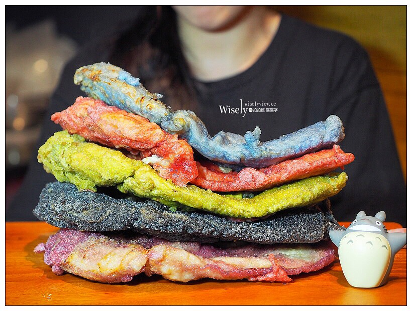 台北公館。雞排本色︱來自台中的天然色素馬卡龍雞排,視覺系人氣打卡風格美食 #全台首創彩色雞排