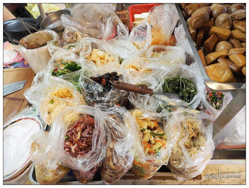台北松山。武昌市場香菇麵︱平價好吃份量多,湯頭滋味佳且黑白切小菜也豐富 #捷運南京三民站美食