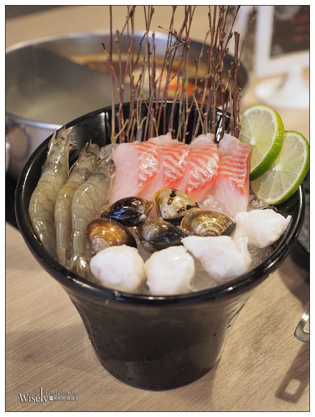 台北大安。大初 Shabu Shabu︱商業午餐單人涮涮鍋NT270:菜盤、肉品加海鮮&飲料甜點吃到飽!