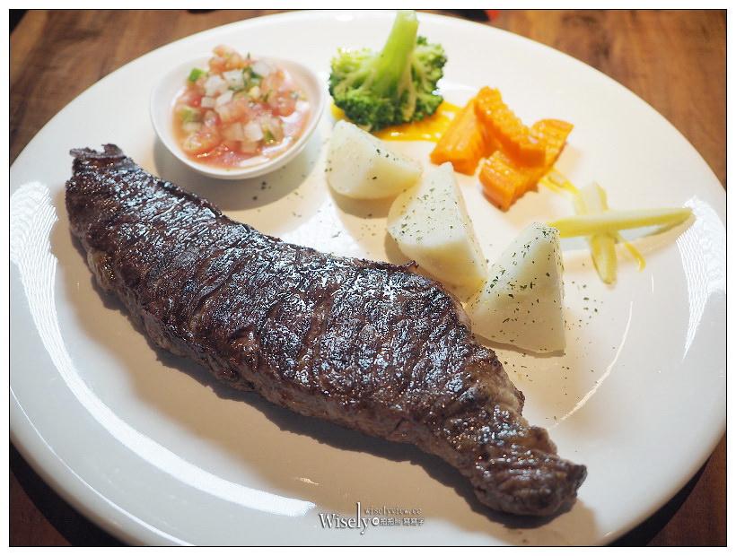 台北信義。亨利客原味炭烤牛排︱原肉大塊美味,鄰近捷運六張犂站與通化夜市