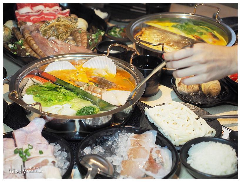 新北永和。饗鮮海陸火鍋︱超平價龍蝦雙人鍋,湯頭一流食材澎湃新鮮~主打多項湯底/美味肉盤選擇/鄰近智光商工