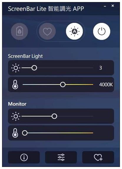 BenQ ScreenBar Lite 筆電智能掛燈︱可調色溫舒適照明,輕巧好攜帶~光照更聚焦光線更柔和