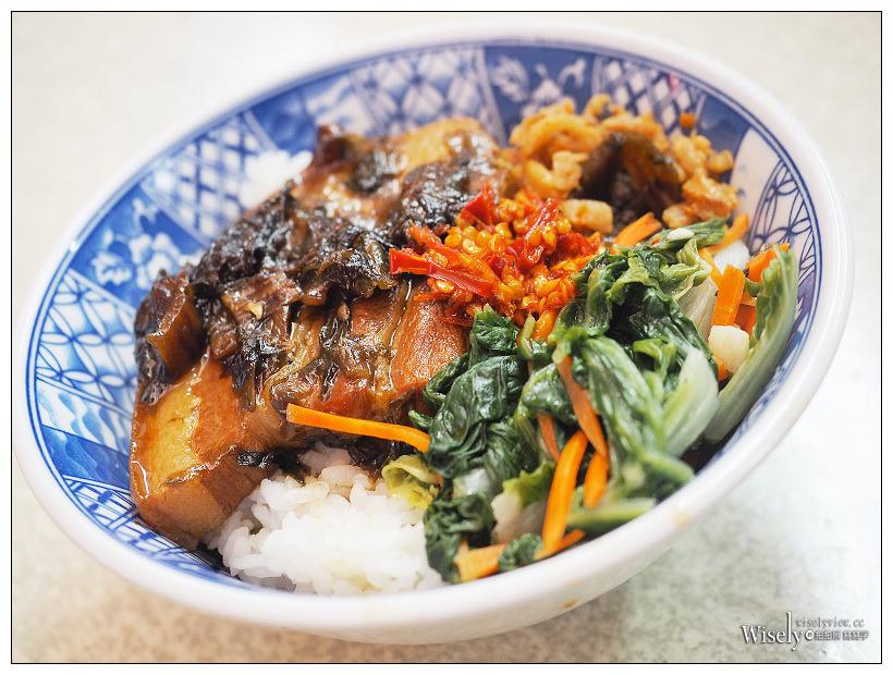 華西街 春美梅干焢肉飯︱平價古早味的碗公菜飯,萬華銅板小吃美食
