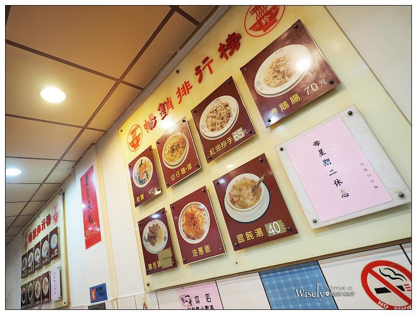 阿國切仔麵︱油蔥飯、黑白切與餛飩湯麵,台北捷運雙連站美食#2019必比登推薦