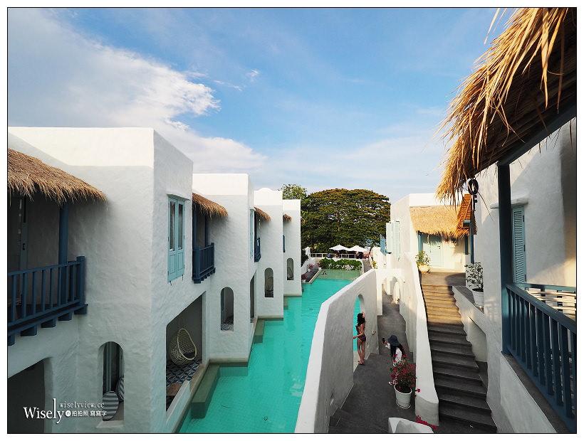 華欣海灘住宿推薦5-4︱七岩德帕斯卡尼度假村 Resort De Paskani Hua-Hin:希臘風網美拍照打卡必訪