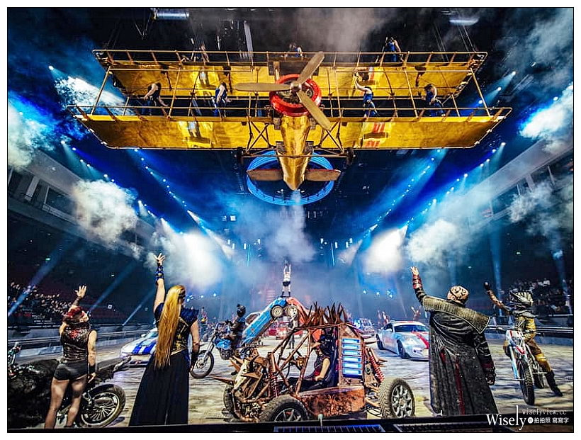 狂電派 ELĒKRŎN︱最瘋狂飛車特技秀,75分鐘無冷場刺激表演