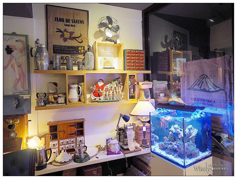 安堤斯古物咖啡 The Antique Cave︱板橋國慶路雜貨咖啡店,鄰近捷運亞東醫院站