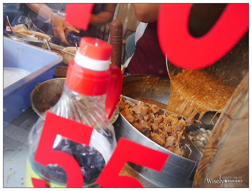 台北 麵線傳奇︱含大腸頭、鮮蚵、瘦肉,細滑濃稠的巷弄排隊美食~捷運民權西路站美食/中山區美食/天祥路美食
