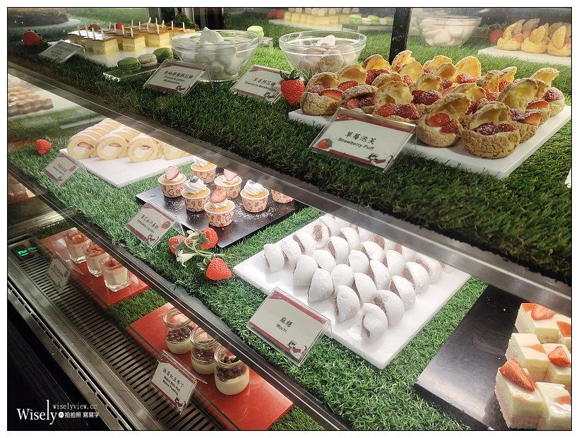 台北凱撒大飯店︱王朝餐廳(外帶年菜試吃)x Checkers自助餐下午茶(草莓季美食)~台北車站美食