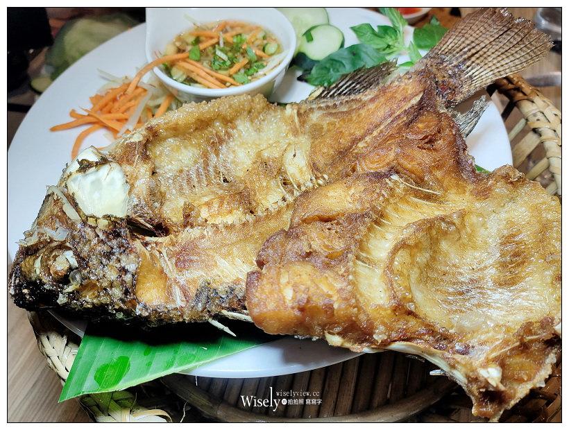 台北中正。曼谷魚 泰式國民料理︱平價台式泰國菜風格,相鄰青島東路立法院