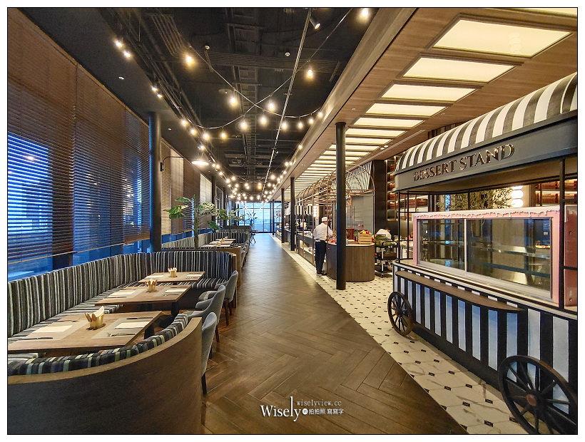 桃園和逸飯店。COZZI Blu︱以海洋為元素的國際型飯店,特色船艙酒吧與碼頭市集風格餐廳,相鄰機捷與高鐵交通便利~桃園住宿 x 華泰名品城(置地廣場)