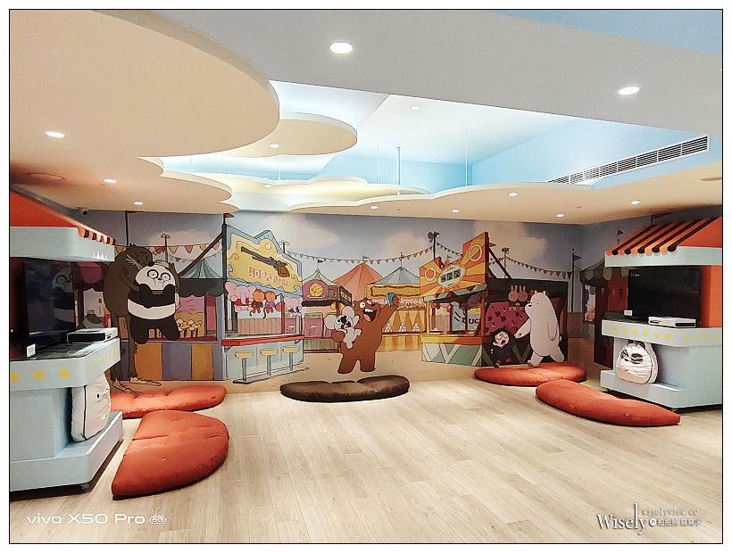 和逸飯店 台南西門館|美國卡通頻道聯名飯店,免費玩樂使用小火車、電動車與室內遊戲區,主題住房還能帶走限定玩偶紀念品~台南親子飯店 x 台南和逸