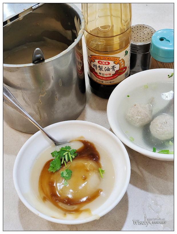 台中肉員︱特色風味白糯米醬與手工油炸肉圓,在地80年老店~台中南區美食 x 台中第三市場美食