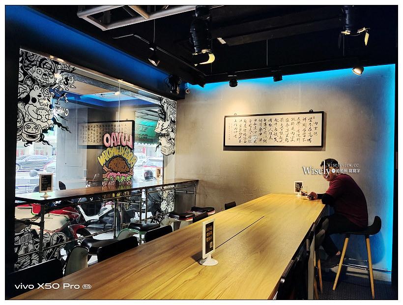 台中西區。堡彪專業美式漢堡-飢肉實驗室︱美式健身風格特色裝潢,手作漢堡肉多汁好吃~台中西區美食