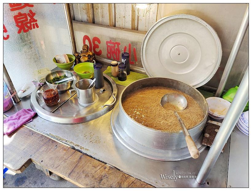 宜蘭美食。礁溪古早味大腸麵線︱湯鮮料多份量足,在地30年古早味市場小吃~礁溪早餐 x 宜蘭美食