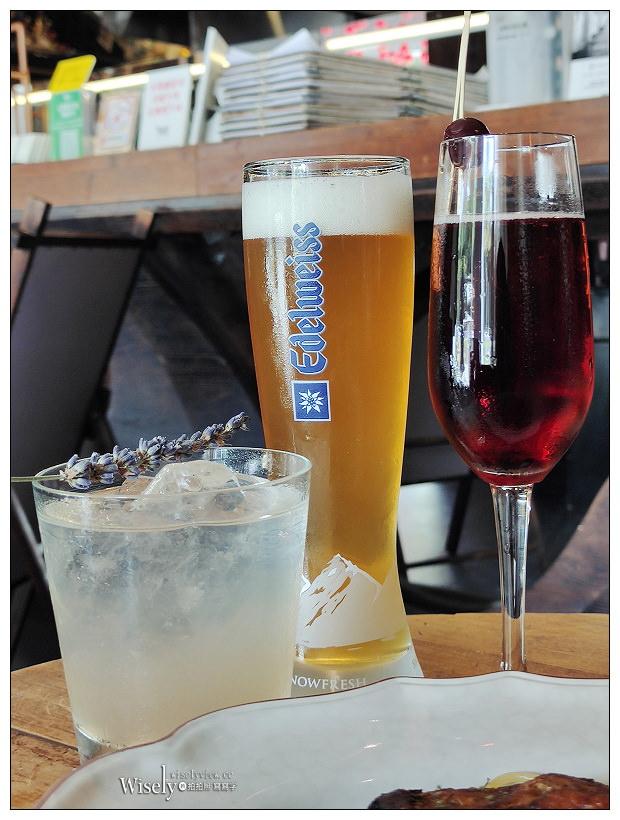 台北松山。333 Restaurant & Bar ︱九點開始暢飲紅白啤酒早午餐,還有松露薯條與單點調酒可享用~捷運南京復興站美食 x 台北小巨蛋美食 x 台北早午餐