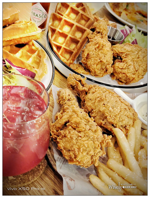 台北大同。Miss V Bakery Cafe 赤峰店 (附新菜單)︱限量炸雞組合吮指回味爽脆多汁~捷運中山站美食