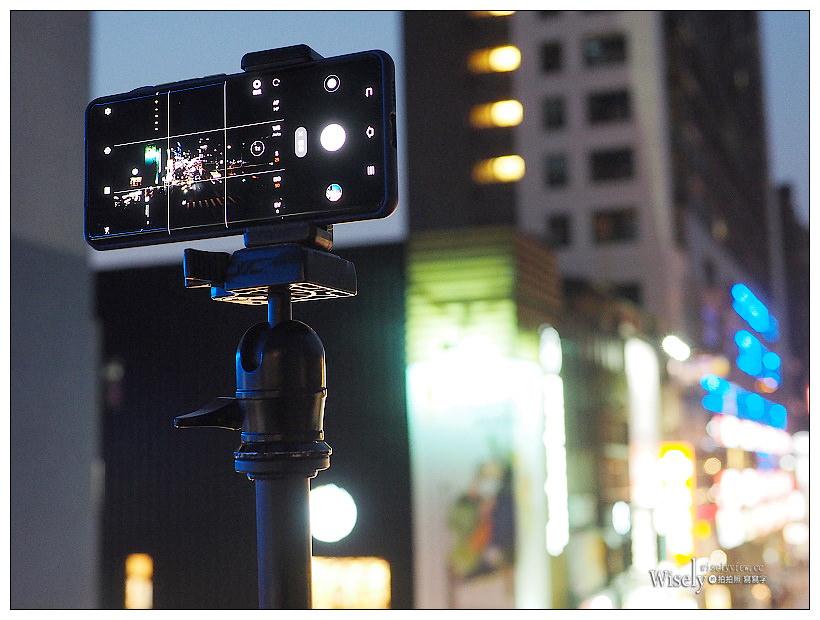 手機夜間光軌長曝。STC手機專業攝影濾鏡組(ND64減光鏡)+ vivo X50 Pro手機︱實拍心得教學分享