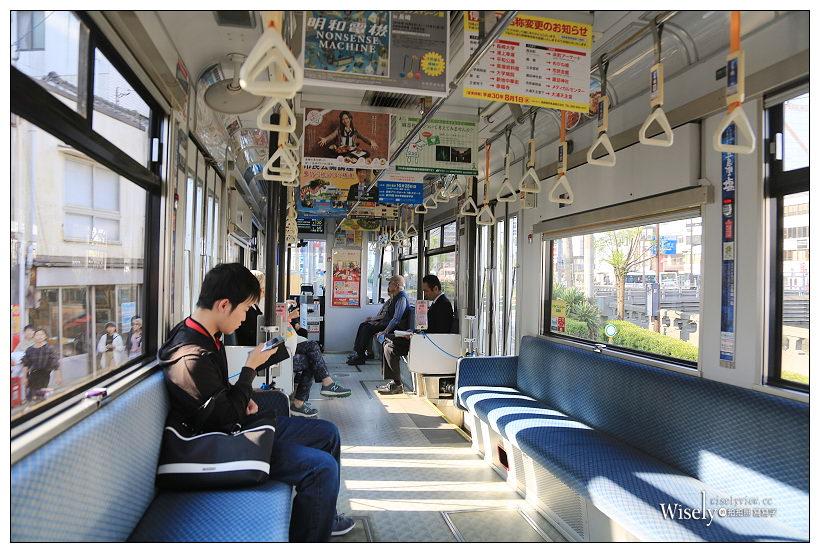 長崎景點。路面電車︱購票搭乘拍攝心得分享,建議使用一日券最划算!(路線圖下載)