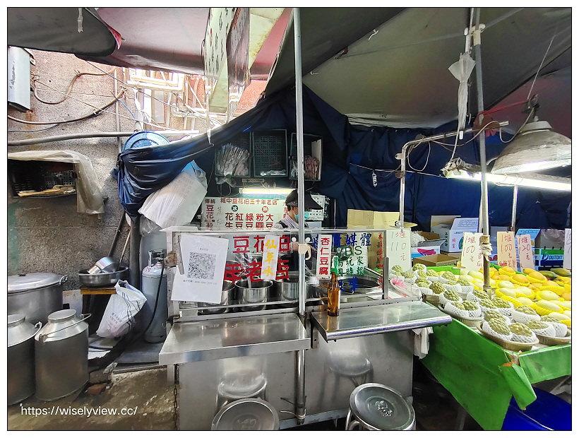 台北中正。城中豆花伯 城中市場50年老字號銅板小吃~捷運西門站美食 x 城中市場美食 x 西門町美食